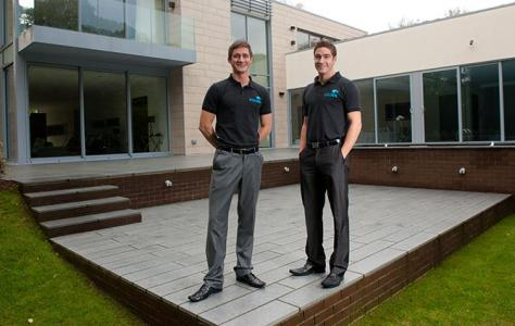 Photo of Sam and Jordan. Trusted installers of Sarnafil.