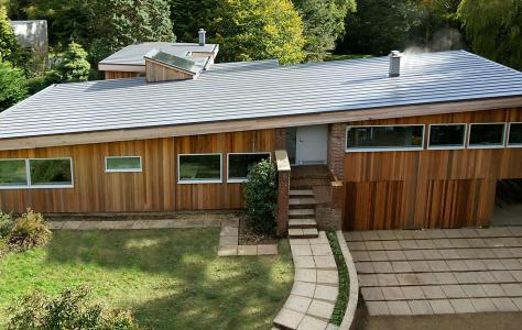 Flat Roof For Remodelled 1960 S Home In Hampshire Roof