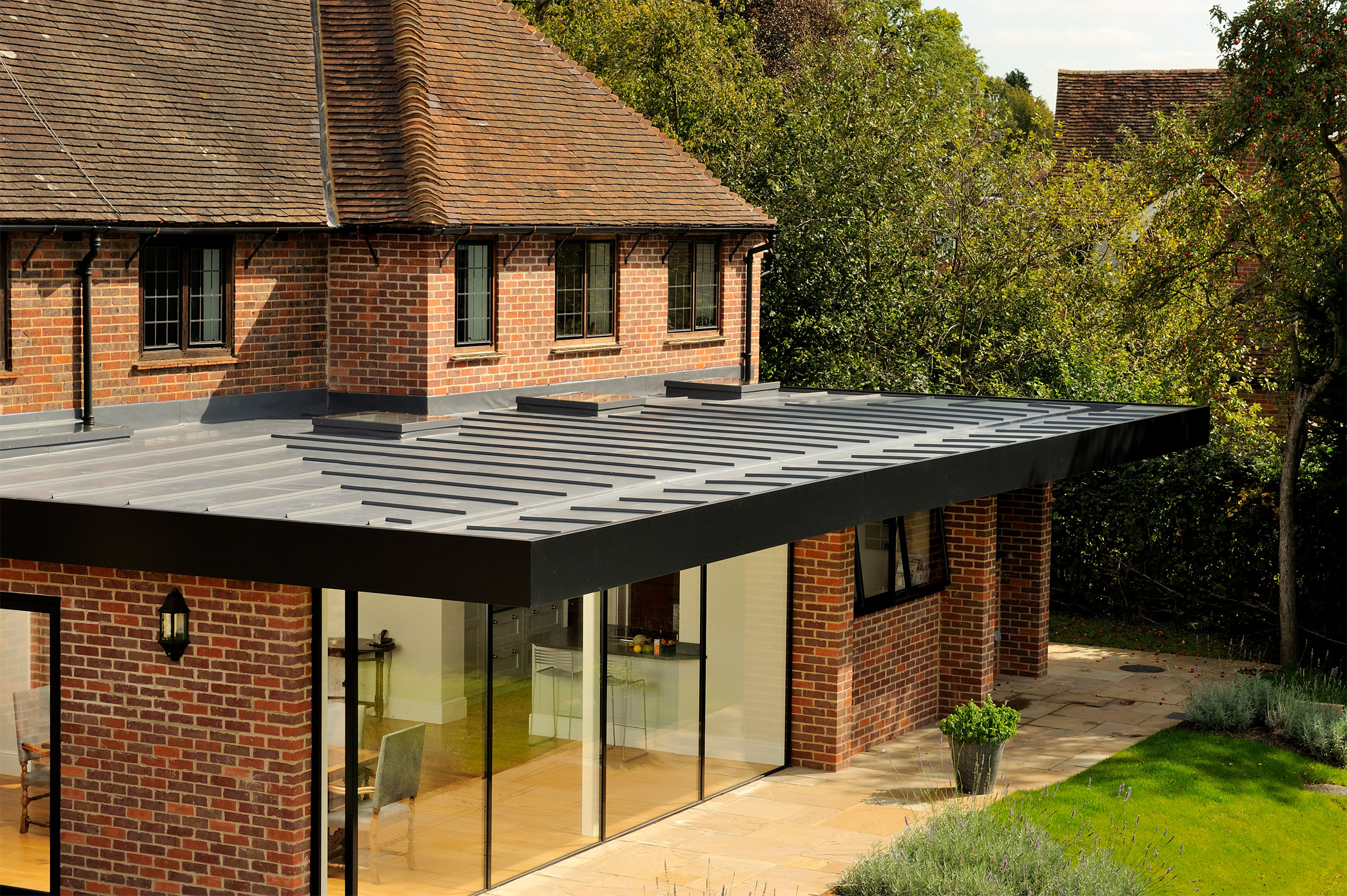 Home Extension Single Ply Roofing Installations Roof Assured