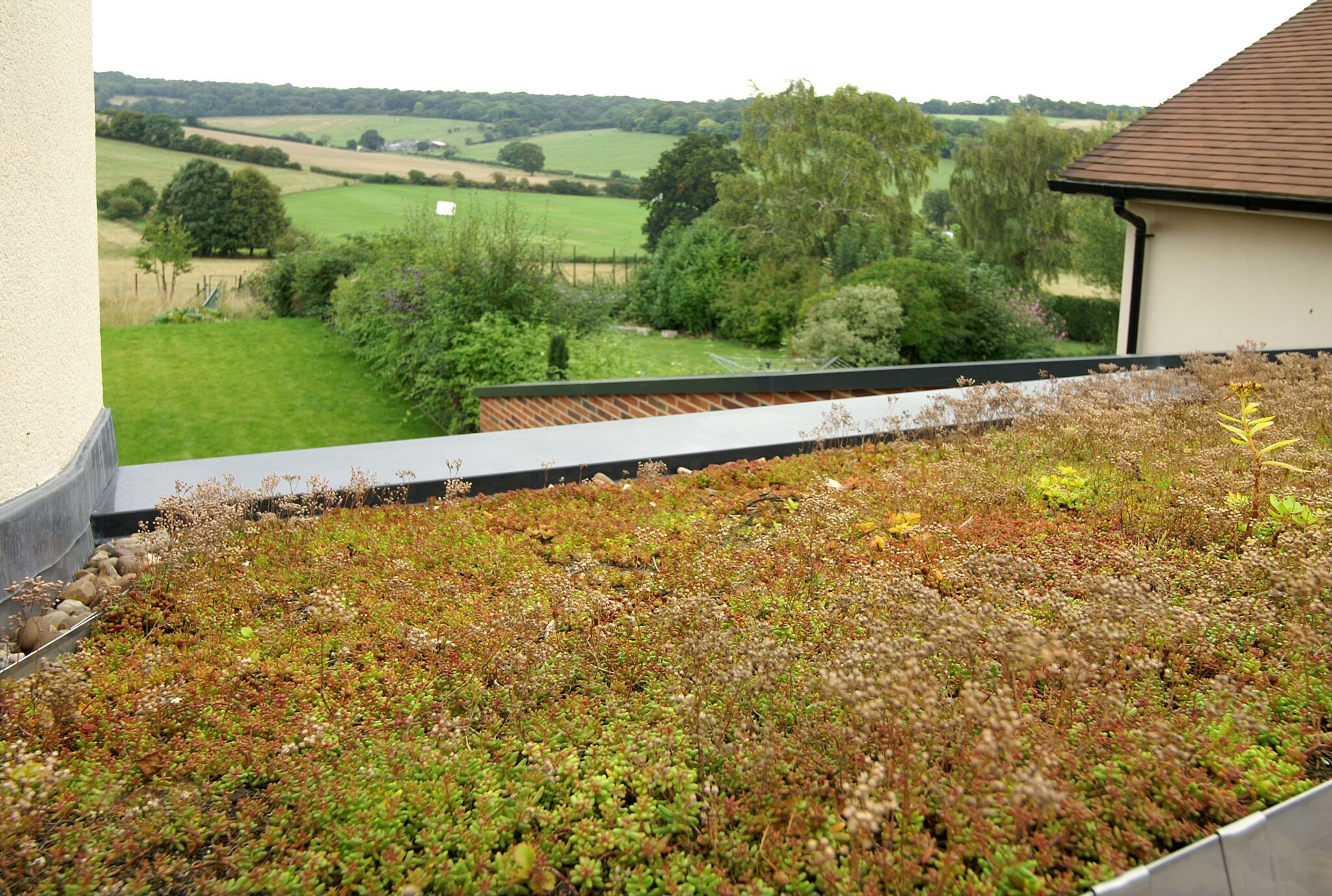 Single Ply Green Roof Installations Roof Assured By Sika