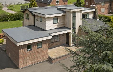 Homeowner specifies Sarnafil single ply membrane for home renovation project