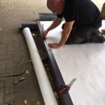 Roof installation training takes place at Sika Sarnafil Training Academy