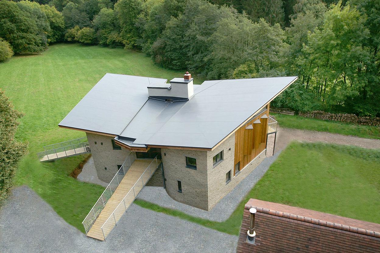 Self Build Amp Renovation Single Ply Roofing Sarnafil Roof