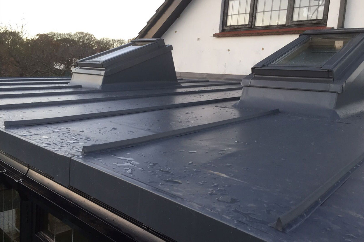 Single Ply Heritage Home Roofing Installation Sarnafil