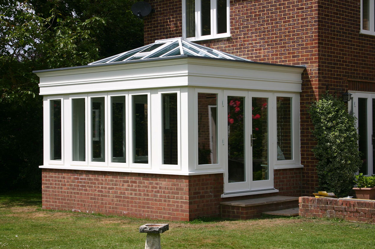 Orangery Roofing Installation With Single Ply Sika Roof